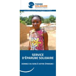 """Dépliant """"Service d'Epargne Solidaire"""""""