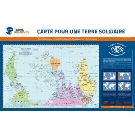 Carte pour une Terre Solidaire, grand format