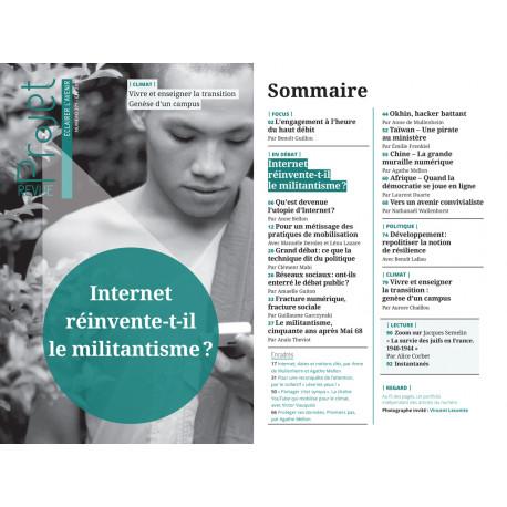 Brochure : REVUE PROJET N°371 Internet réinvente-t-il le militantisme ?