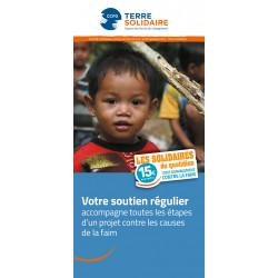Dépliant PAP « Votre soutien régulier »