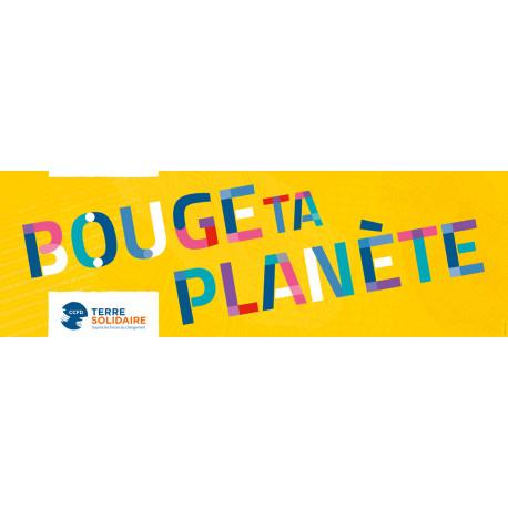 Banderole Bouge ta Planète