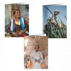 Cartes postales de correspondance CCFD-Terre Solidaire (lot de 6)