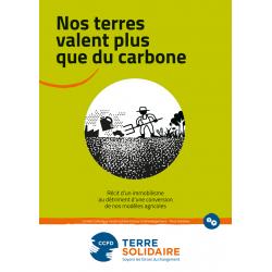 Brochure - NOS TERRES VALENT PLUS QUE DU CARBONE
