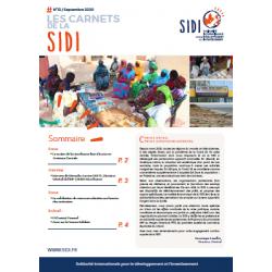 Feuillet n°12 Sept. 2020 « Les Carnets de la SIDI n°12 »
