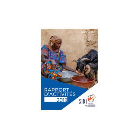 SIDI Rapport d'activités 2019