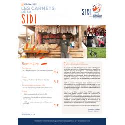 Feuillet n°8 « Les Carnets de la SIDI n°8 » - Mars 2019