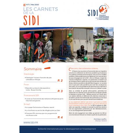 Feuillet n°11 Mai 2020 « Les Carnets de la SIDI n°11 » - Mai 2020