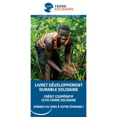 Dépliant de présentation du Livret développement durable solidaire