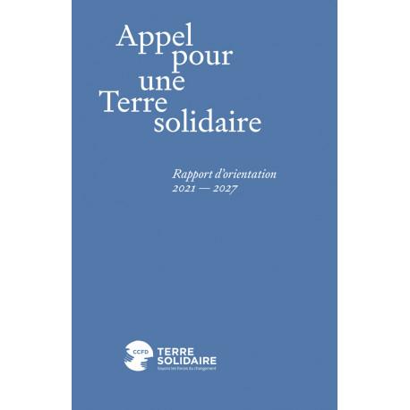 Rapport d'orientation 2021-2027 : Appel pour une terre solidaire