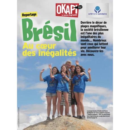 Revue Okapi « Brésil, au cœur des inégalités »