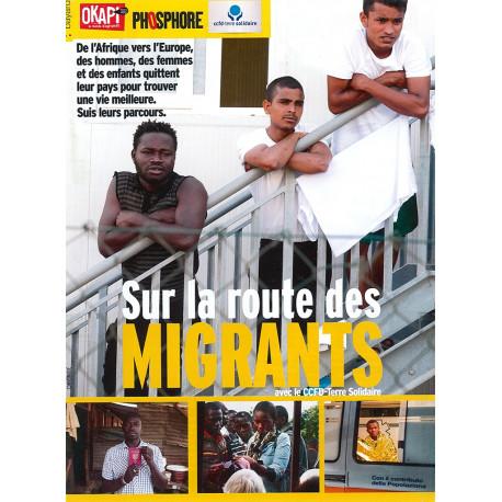 Brochure Okapi Phosphore « Sur la route des migrants »