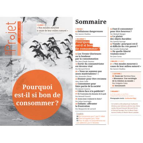 BROCHURE : REVUE PROJET N°367 - Pourquoi est-il si bon de consommer ?