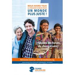 Affiche notoriété CCFD-Terre Solidaire 40x60