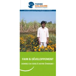 Livret Faim et Développement
